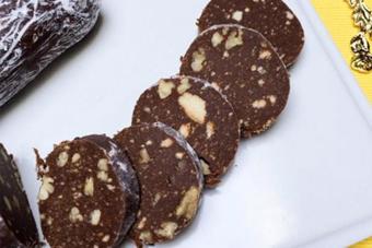 Bánh qui chocolate hạt óc chó