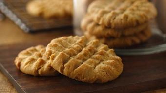 Bánh quy bơ đậu phộng béo thơm
