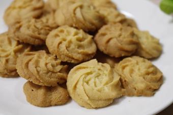 Bánh quy bơ hương vani