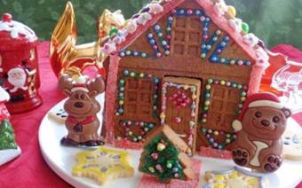 Bánh quy gừng hình ngôi nhà