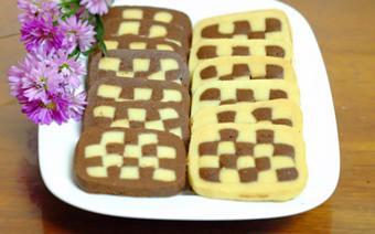 Bánh quy hình bàn cờ