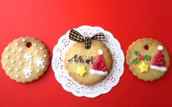 Bánh quy hình mũ Noel