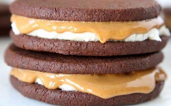 Bánh quy kem chocolate