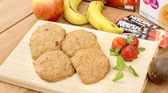 Bánh quy Nescafé trái cây tươi