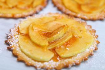 Bánh táo mini kiểu Pháp