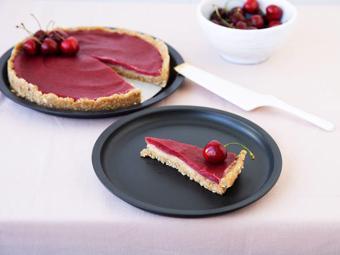 Bánh tart cherry không dùng lò nướng