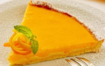 Bánh tart kem cam