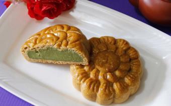 Bánh trung thu nhân trà xanh