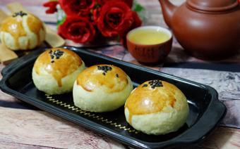 Bánh trung thu trứng muối Đài Loan