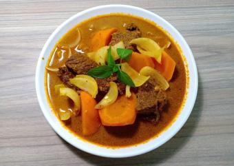 Bò kho nước cốt dừa