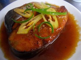 Cá bông lau kho tiêu
