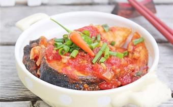 Cá hồi sốt cà chua
