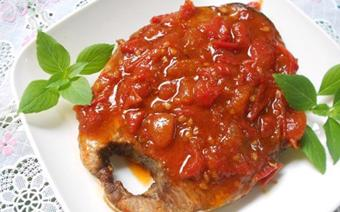 Cá ngừ sốt cà chua