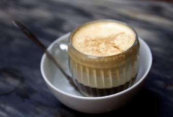 Cà phê trứng béo thơm