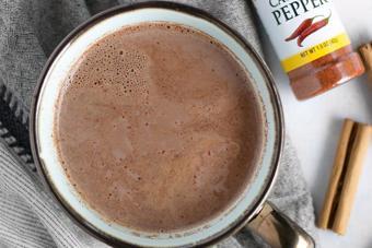 Cacao sữa nóng ngon