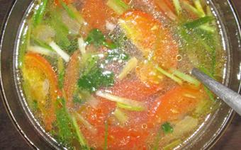 Canh cà chua thịt bò