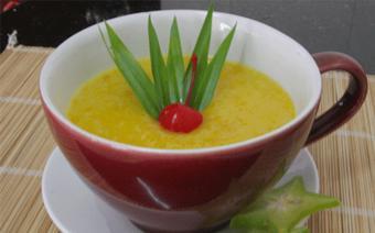 Chè bí đỏ gạo nếp