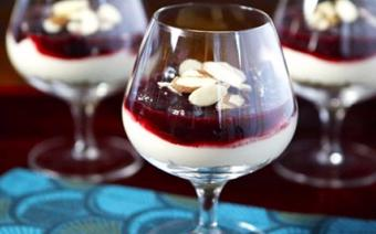 Cheesecake cherry