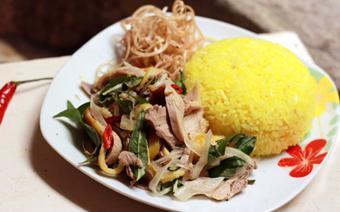 Cơm gà miền Trung