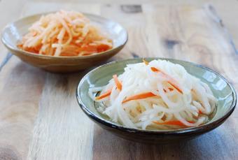 Củ cải ngâm chua kiểu Hàn