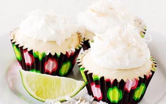 Cupcake dừa chanh