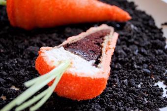 Cupcake hình cà rốt