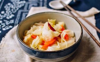 Dưa bắp cải muối chua ngọt