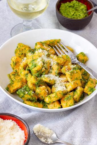 Gnocchi khoai lang