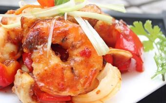 Hải sản xào chua ngọt