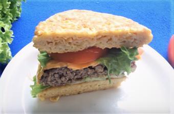 Hamburger mì gói