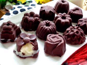 Kem chanh chocolate