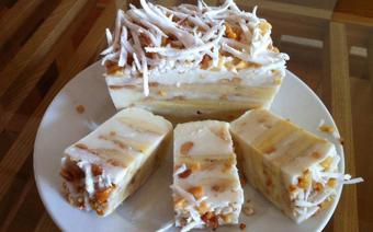 Kem chuối đậu phộng dừa