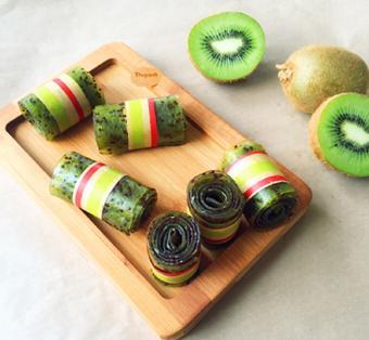 Kẹo cuộn kiwi