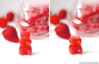 Kẹo dẻo hình gấu an toàn cho bé yêu