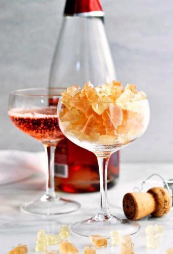 Kẹo dẻo vị rượu Champagne