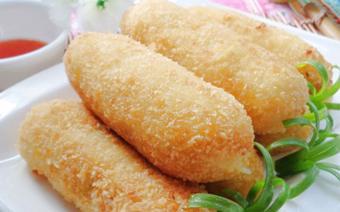 Khoai tây bọc cá ngừ chiên xù