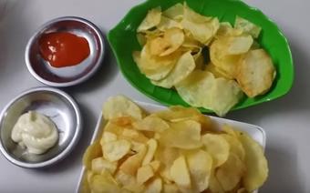 Cáchlàm snack khoai tây ngay tại nhà