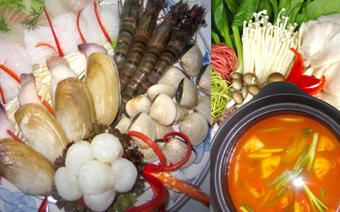 Lẩu hải sản Samba