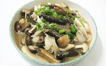Lươn om nấm