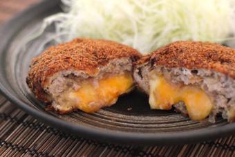 Menchi Katsu - Thịt viên chiên giòn kiểu Nhật