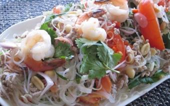 Miến trộn salad