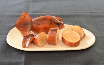 Mực nhồi cơm nếp - Rice-stuffed squid