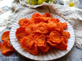 Mứt cà rốt bằng lò nướng