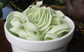 Mứt dừa trà xanh