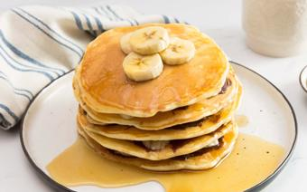 Pancake chuối kiểu Mỹ