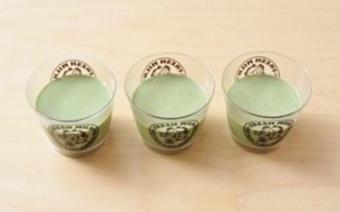 Pudding trà xanh