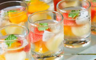 Rau câu trái cây bạc hà