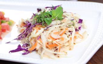 Salad bắp cải trộn sốt Kewpie