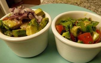 Salad bơ cà chua