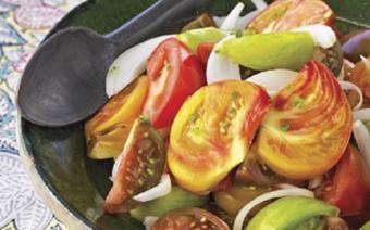 Salad cà chua hành tây